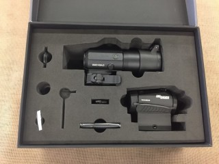 SIG SAUER ROMEO5 RED DOT SIGHT WITH JULIET3 3X MAGNIFIER COMBO SORJ53101 (PRICE USD 360)